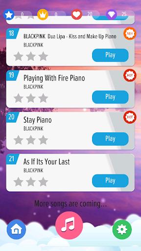 BLACKPINK Piano Tiles KPOP 1.2 screenshots 5