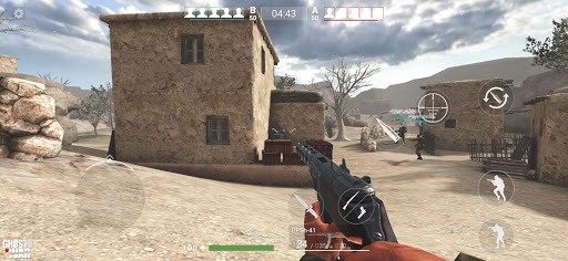Ghosts of War: WW2 Shooting game Army D-Day 0.2.9 screenshots 10
