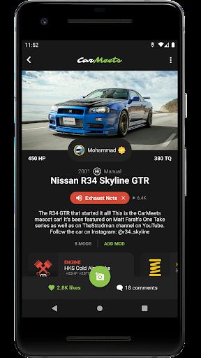CarMeets - The Ultimate Car Enthusiast App  Screenshots 1