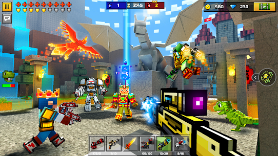 Pixel Gun 3D APK MOD 21.6.1 (Unlimited Diamond, Craft, Ammo) 9