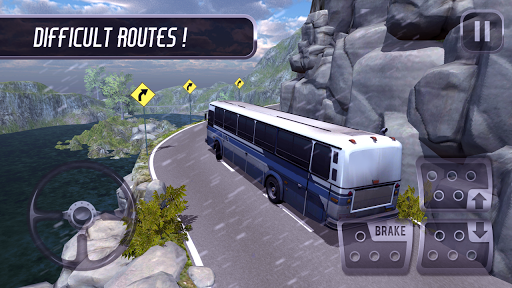 Coach Bus Simulator - Free Bus Games  screenshots 2