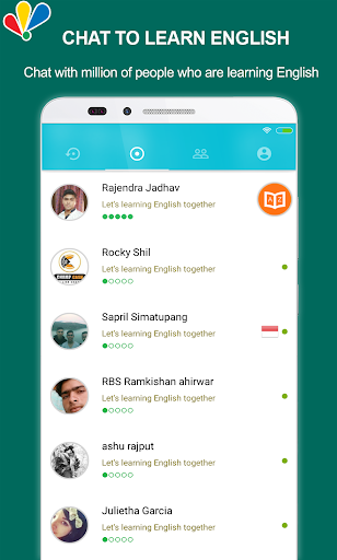 chat to learn english screenshot 1