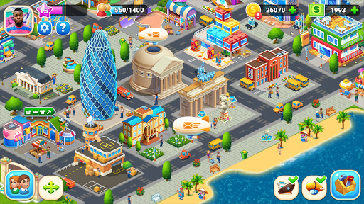 Farm City : Farming & City Building apkpoly screenshots 16