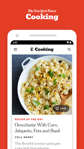 nyt cooking screenshot 1