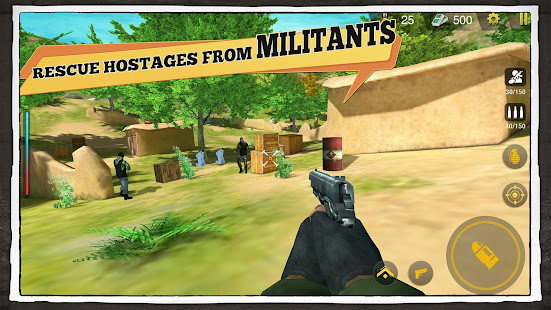 Yalghaar: Delta IGI Commando Adventure Mobile Game 3.5 Screenshots 18