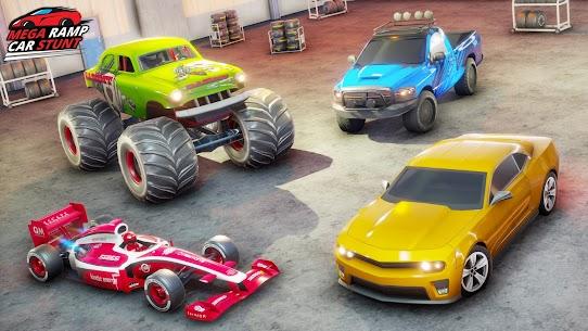 Ramp Car Stunts 2021 – Mega Ramps Car Stunt Races 10