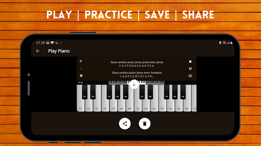 Play Piano : Piano Notes | Keyboard | Hindi Songs  screenshots 6