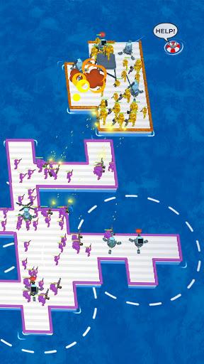 War of Rafts: Crazy Sea Battle  screenshots 6