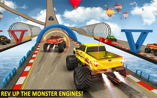 Ramp Monster Truck Stunts:New Racing Games 2.1 screenshots 4