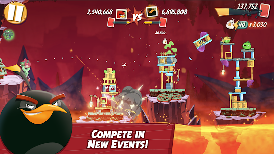 Angry Birds 2 APK MOD 2.57.1 (Unlimited Money) 8