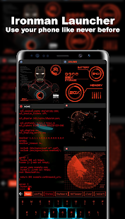 Jarvis Theme - Aris Launcher Themes