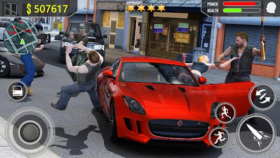 Gangster Fight - Vegas Crime Survival Simulator screenshots 1