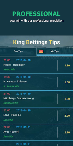 King Betting Tips Football App NEW Screenshots 8