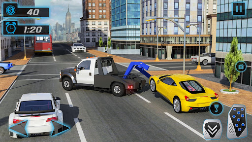 Police Tow Truck Driving Simulator 1.3 screenshots 7