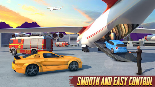 Airplane Car Transport Driver: Airplane Games 2020 screenshots 2