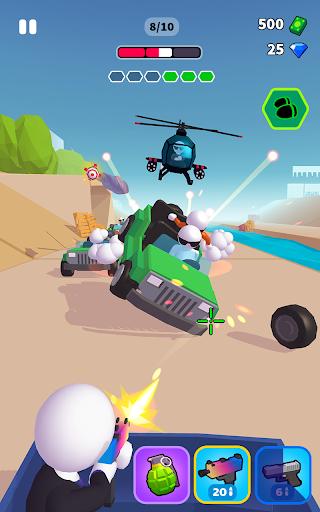 Rage Road - Car Shooting Game screenshots 6