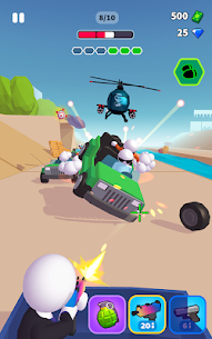 Rage Road Mod Apk- Car Shooting Game (Unlocked All Items) 6