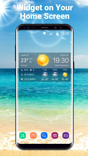 Local Weather Widget&Forecast 16.6.0.6326_50168 Screenshots 1