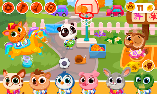 Bubbu School – My Cute Animals Mod Apk (Unlimited Money + Unlocked) 1.05 6