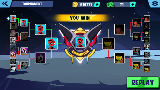 Stickman Heroes Fight - Super Stick Warriors 1.1.3 screenshots 8