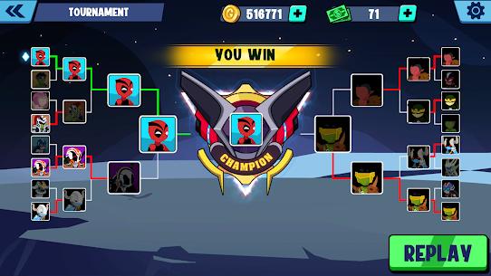 Stickman Heroes Fight – Super Stick Warriors Mod Apk (No Skills/Ultimate) 8