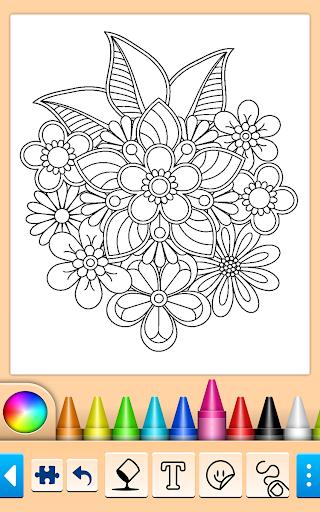 Coloring book screenshots 1
