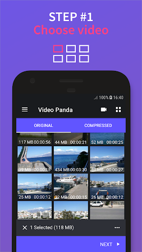 Video Compressor Panda: Resize & Compress Video  screen 0