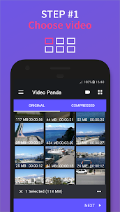 Video Compressor Panda Premium Apk (Premium Features Unlocked) 1
