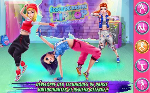 Jeu d'École de danse Hip Hop APK MOD – Monnaie Illimitées (Astuce) screenshots hack proof 2