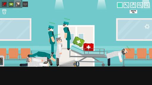 Doctor Surgery Playground: Scanner Ragdoll apktram screenshots 1