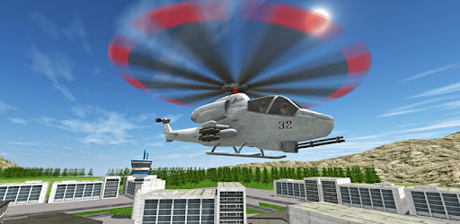 Screenshot of Free Helicopter Flying Simulator