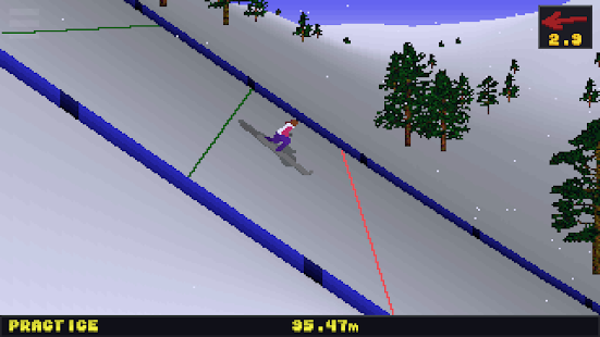 Deluxe Ski Jump 2 Screenshot
