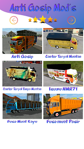 Mod Truck Canter Anti Gosip BUSSID 3