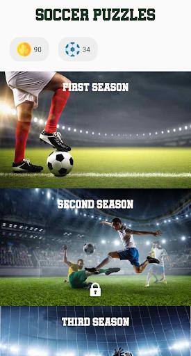 Soccer Puzzles: Football Games  screenshots 1