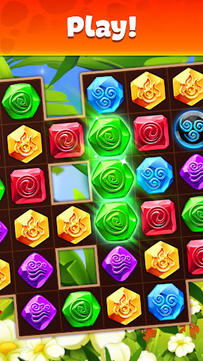Gemmy Lands: Gems and New Match 3 Jewels Games apkslow screenshots 2