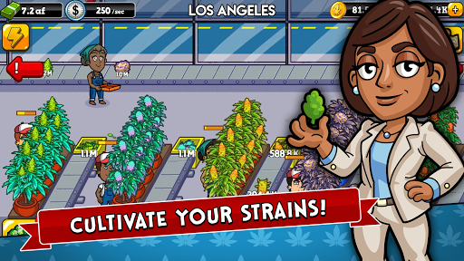 Weed Inc: Idle Tycoon screenshots 1