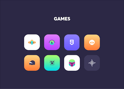 Gelatine Iconpack Screenshot