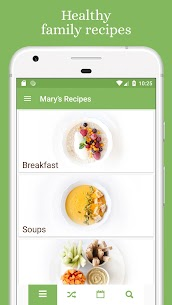 Mary's Recipes: Meal Planner & Grocery List 2