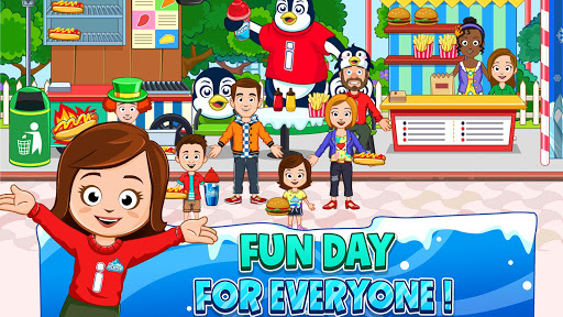 My Town : Fun Amusement Park Game for Kids Free screenshots 7