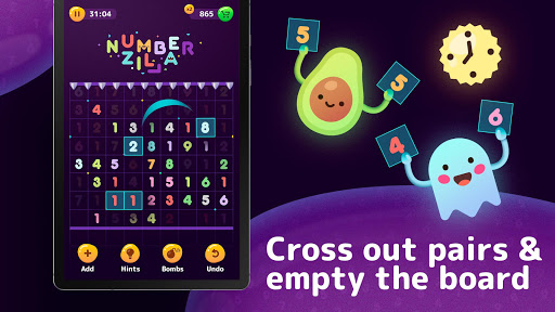 Numberzilla - Number Puzzle | Board Game 3.5.1.0 screenshots 8