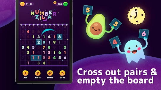 Numberzilla – Number Puzzle | Board Game 8