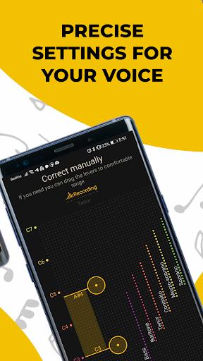 Singing app Vocaberry. Vocal training. Karaoke 2.11.2GMS Screenshots 7