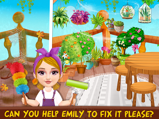 Messy House Cleanup Girls Home Cleaning Activities modavailable screenshots 8