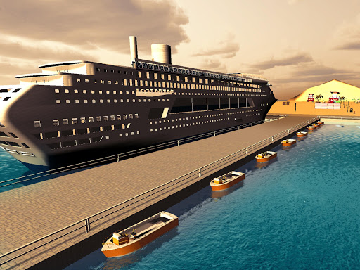 Transport Cruise Ship Game Passenger Bus Simulator 3.0 screenshots 7