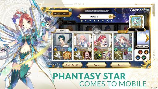 Idola Phantasy Star Saga 1.11.7 screenshots 14
