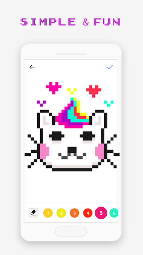 Pixel Art Book - Color by Number Free Games 1.8.8 screenshots 4