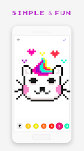 Pixel Art Book - Color by Number Free Games 1.9.9 Screenshots 4