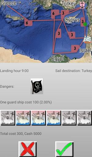 Code Triche Sea Merchant (Astuce) APK MOD screenshots 2