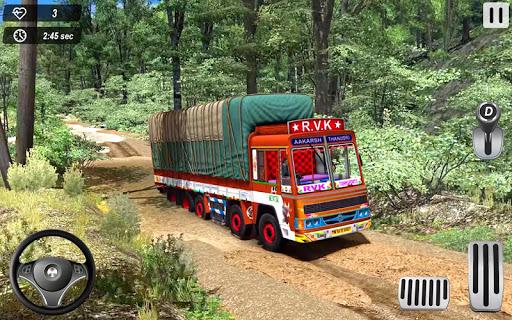 Indian Truck Offroad Cargo Drive Simulator 2  Screenshots 1