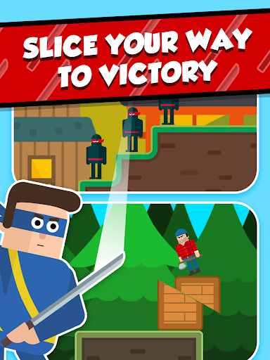 Mr Ninja - Slicey Puzzles screenshots 12